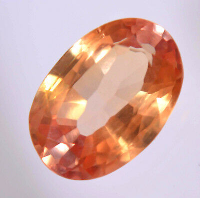 VVS 4.70 Ct Natural Ceylon Padparadscha Sapphire AGSL Certified AAA+ Gem Stone