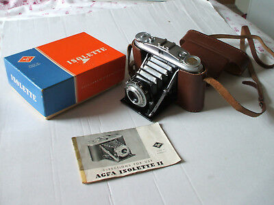 1950's Agfa Isolette Ii   Camera