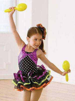 Revolution Dance Wear Papa Loves Mambo Wild Berry Pageant Costume Dress XS C