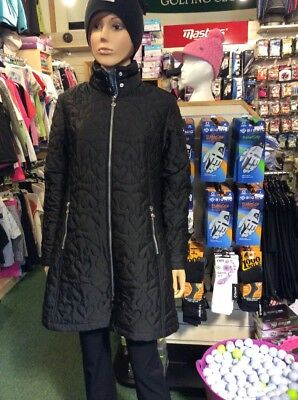 Daily Sports Ladies Harley Wind Coat Black Size 12