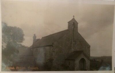 Tre-lech a'r Betws, Carmarthenshire - Old Postcard Parish Church