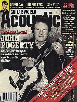 John Fogerty Guitar World Magazine - Cover Pic + 6 Transcribed Songs
