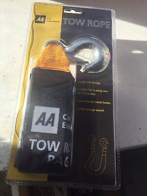 Brand new AA Tow Rope /suitable towing up to 2 tonnes / 3.5m /