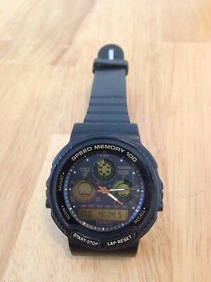 Vintage Casio Speed Memory 100 384 AW 20 Watch