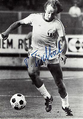 Pius Fischbach Former Swiss Footballer Signed Picture
