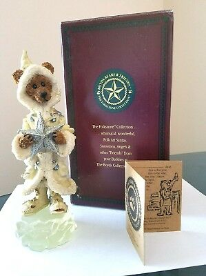BOYDS BEARS Polaris and the North Star..On Ice  Christmas #2880 Little Dipper
