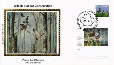 Dr Jim Stamps Wildlife Habitat Conservation Combination Silk Cachet Canada Cover