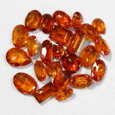 8.35 Cts_Amazing Wholesale~Fanta Color_100 % Natural Mandarin Spessartite Garnet