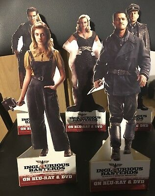 Quentin Tarantino's Inglourious Basterds Standees - Extremely Rare!