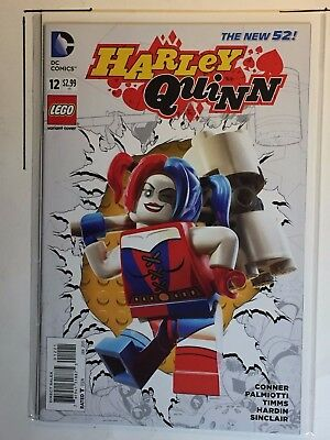 Harley Quinn #12 (DC New 52) Lego Variant Edition Cover.