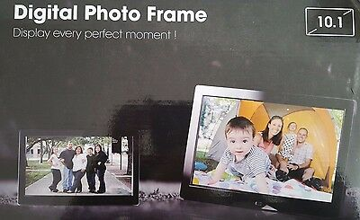 Digital Photo Frame with Alarm Calendar Auto SlideShow Remote Control New