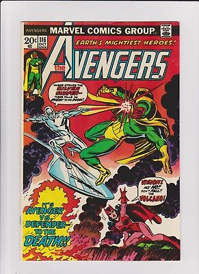 Avengers 116  VF    cents issue