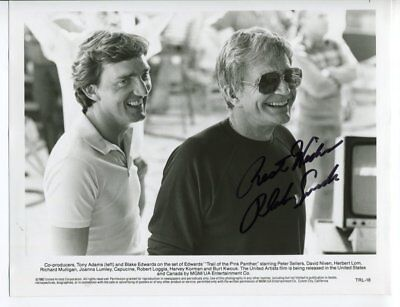 film director BLAKE EDWARDS autograph HAND SIGNED 5362
