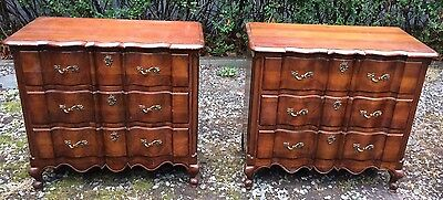 Vintage French Provincial Dresser/Chest/Server by Union National - Matching Pair