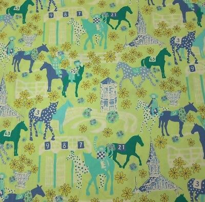 Lilly Pulitzer Cotton Fabric Low Rider 1 Yard