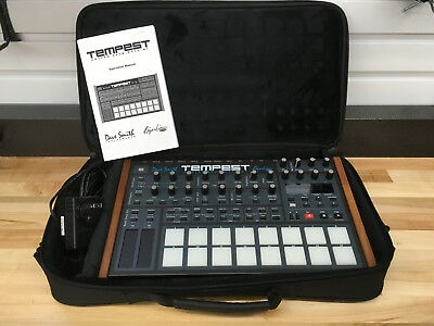 Dave Smith Tempest Great Condition DSI Analog Drum Machine Analog Synth
