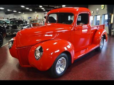1940 Ford Other Pickups Carry All 1940 Ford truck 302 fast custom nice fun manual 4spd COLD AC red