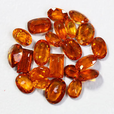 8.55 Cts_Amazing Wholesale~Fanta Color_100 % Natural Mandarin Spessartite Garnet