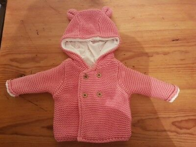 Baby girls M&S knitted jacket - newborn