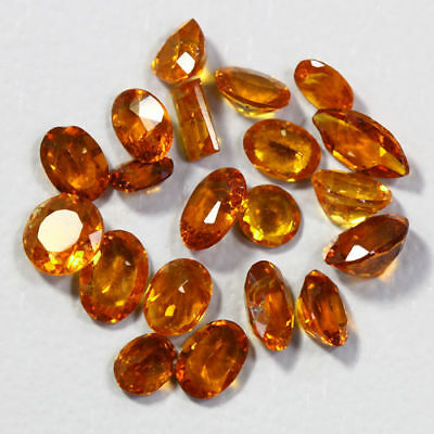 8.37 Cts_Amazing Wholesale~Fanta Color_100 % Natural Mandarin Spessartite Garnet