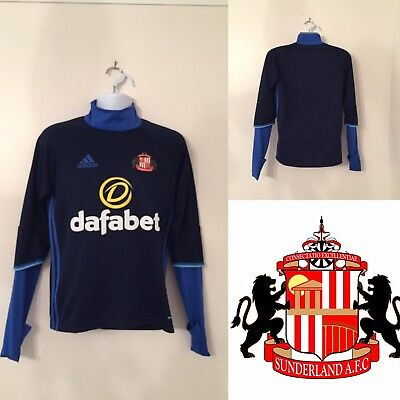 Sunderland FC Adidas Training Jumper SMALL Excellent Condition