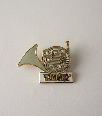 PIN ANSTECKER - Yamaha Waldhorn French Horn Vintage ANSTECK-PIN BADGE