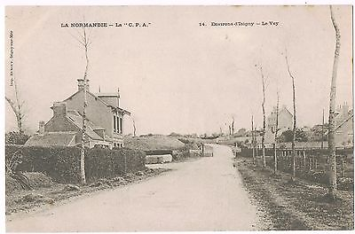 Cpa 14 /  Environs D'isigny  :  Le Vey/
