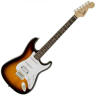Squier Bullet Stratocaster HSS Electric Guitar - Brown Sunburst
