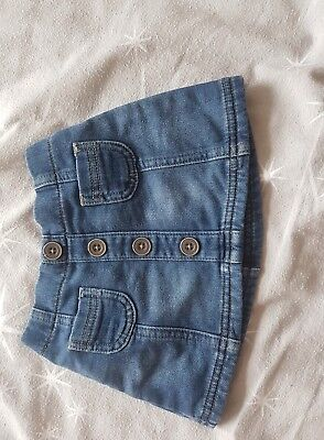 baby girls denim skirt