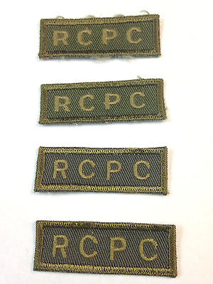 Royal Canadian POSTAL Corps **PATCH LOT x4**