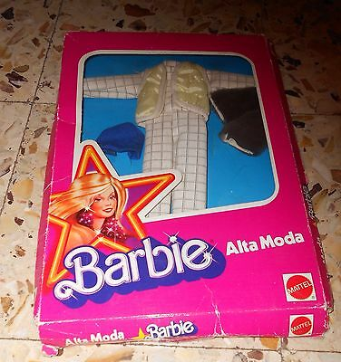 Outfit Suit Of Snow Barbie Superstar  Mattel 1979  Mib Never Played