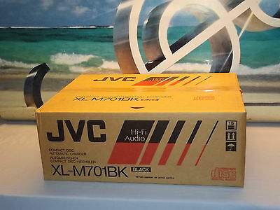JVC XL-M701BK Stereo Compact Disc Automatic Changer CD Player JAPAN NEW In Box