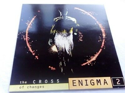 enigma 2 the cross of changes vinyl lp cleaned and playtested 1993 original copy