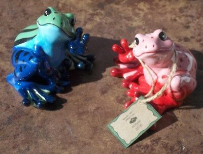 Lot of 2 Peace Frogs Westland New With Box 18817