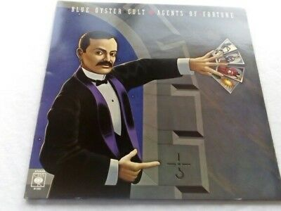 Blue Oyster Cult-Agents Of Fortune-1976 Vinyl Lp - Excellent Condition