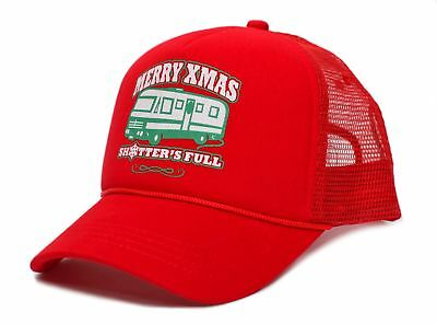 Merry Christmas Xmas Shitter's Full Funny Truckers Hat Cap Red