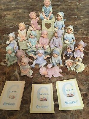Boyds Fairy Tots Collection. Lot of 18