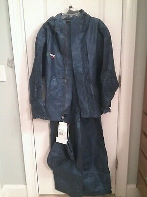 NWT Frogg Toggs Classic Pro Sport Angler Bibb Suit,  Small,  Royal Blue