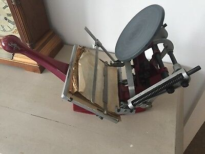 Adana 5X3 Printing Press Letterpress