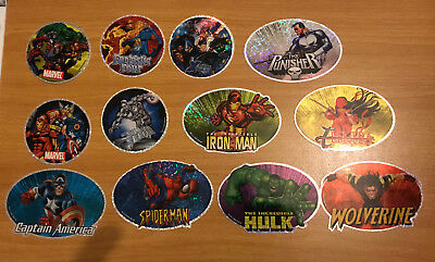 270 Beaver Flat Pak Pack Vending Machine Marvel Superheroes Stickers Party Bag