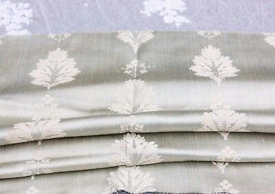 "Rare Ice Blue 18thC French Silk Home Dec Frame Fabric Textile c1780~36""LX21""W"