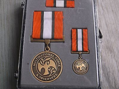 US Medal set Multinational  Force Observers im Verleihungs Etui