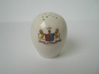 Crested China -Pepper Pot-Chester