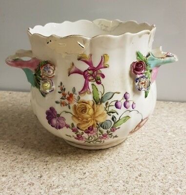 Antique Rare Meissen Flower Pot Jardiniere