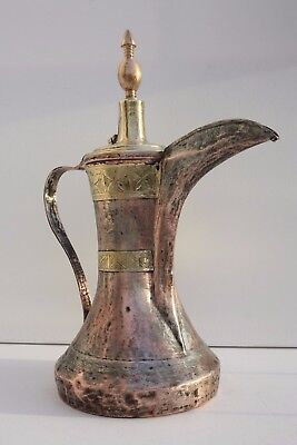 Great Antique NIZWA  Bedouin Dallah Coffee Pot  islamic art  Middle East 1225 gr