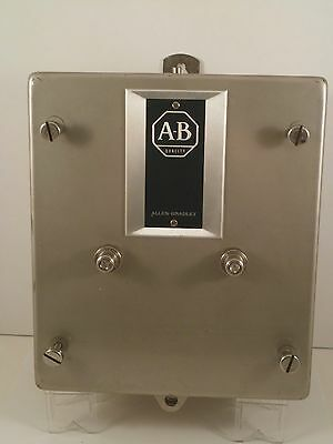 Allen Bradley Stainless Steel Enclosure Only 709-Bcd (No Starter)