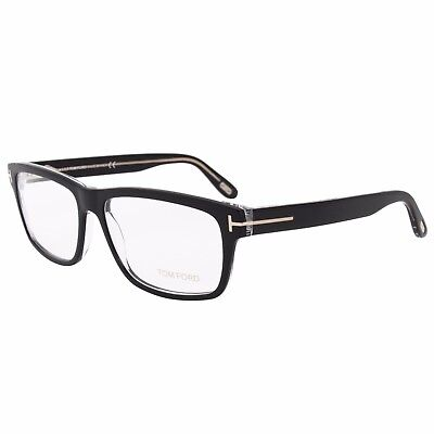 415332f3180 Tom Ford FT5320 5 Square Black Eyeglass Frames