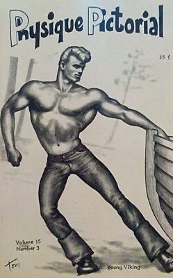 Physique Pictorial Volume 15 Number 3 Gay interest Magazine