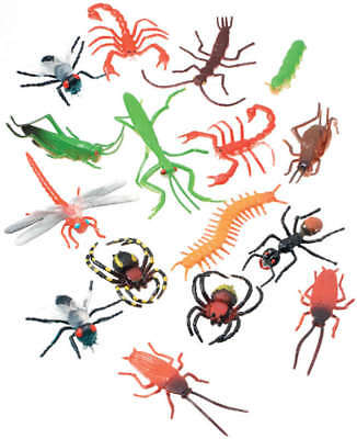 Creatures Inc. Insects 16/Pkg 1029-03