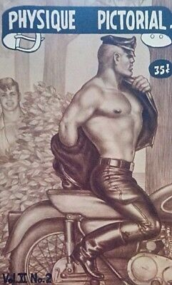 Physique Pictorial Volume 11 Number 2 Tom of Finland Gay interest Magazine